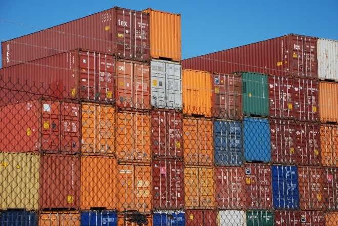 Shipping Containers by Claire Rosslyn Wilson