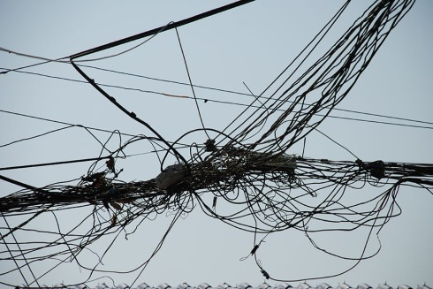 Crossed wires by Claire Rosslyn Wilson