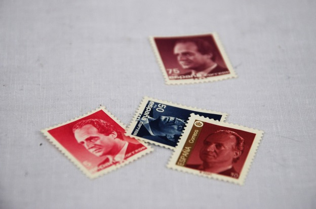 Spanish stamp by Claire Rosslyn Wilson