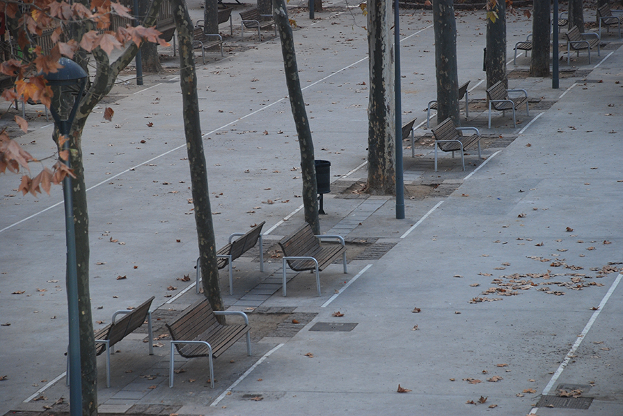 Benches- detail © Claire Rosslyn Wilson
