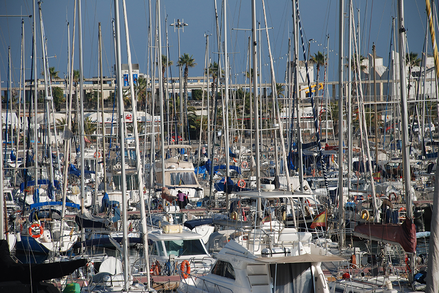 Masts © Claire Rosslyn Wilson