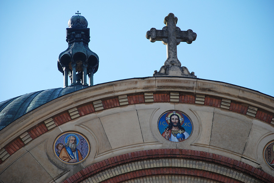 Orthodox church, photo by Claire Rosslyn Wilson