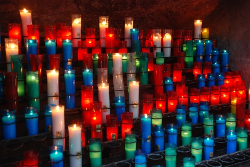 Candles in Montserrat by Claire Rosslyn Wilson