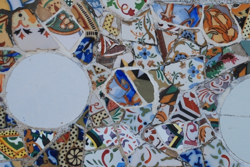 Tiles in Barcelona by Claire Rosslyn Wilson