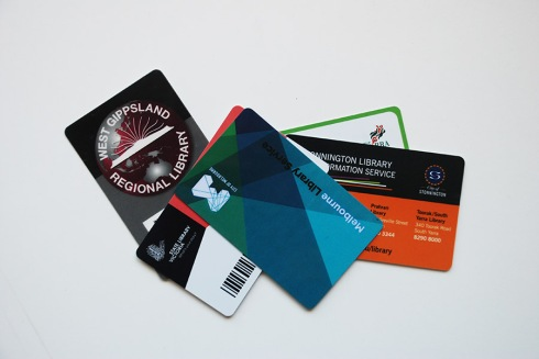 Library cards by Claire Rosslyn Wilson