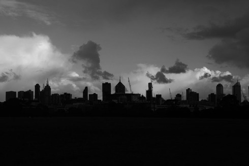 City Contrasts by Claire Rosslyn Wilson