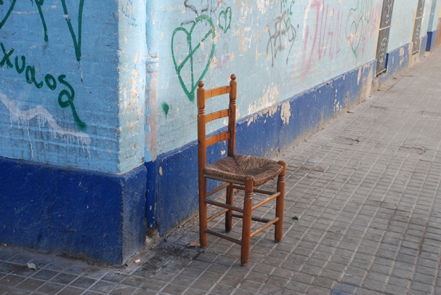 Chair by Claire Rosslyn Wilson