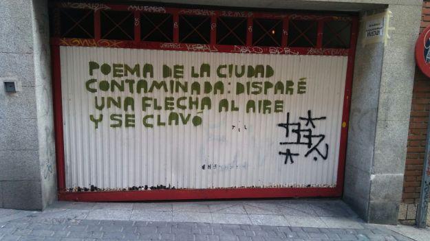Poem in Madrid