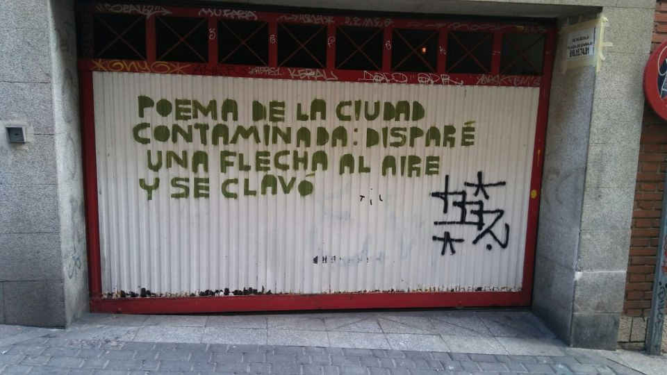 Poem in Madrid