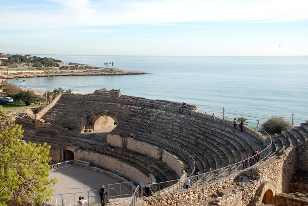 Tarragona theatre by Claire Rosslyn Wilson