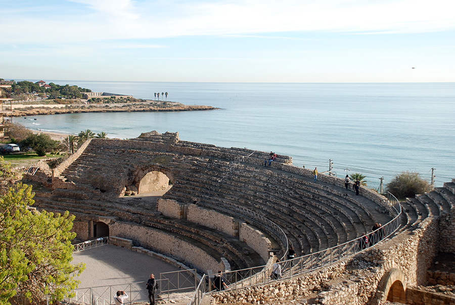 Tarragona theatre by Claire Rosslyn Wilson