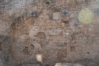 Old walls by Claire Rosslyn Wilson