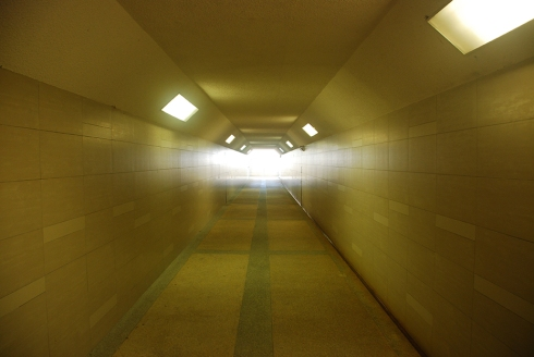 Corridor light by Claire Rosslyn Wilson