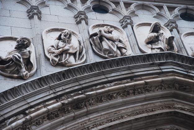 Church Lintel by Claire Rosslyn Wilson