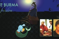 Love Burma Love Freedom exhibition flyer